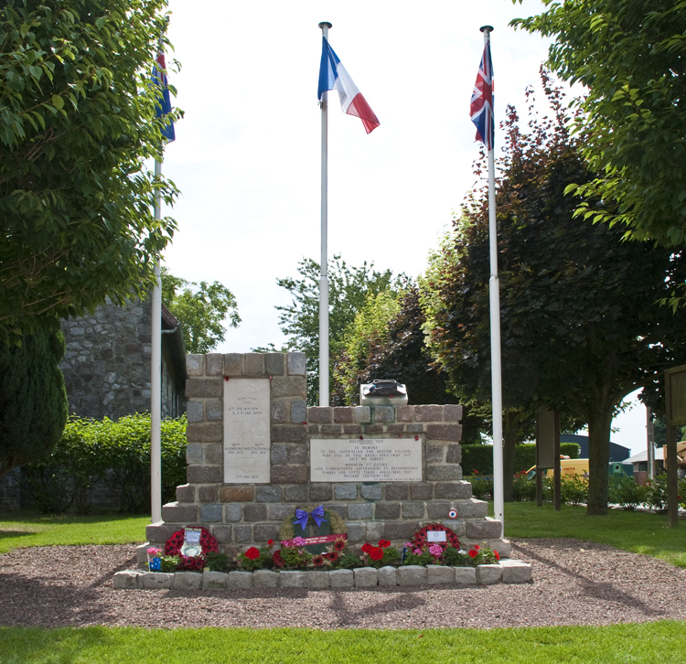 Bullecourt Church and Memorial