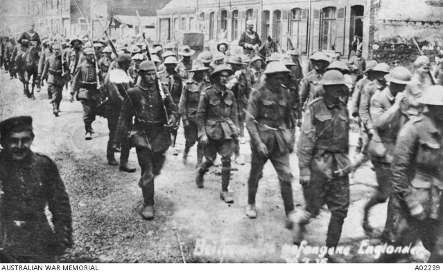 Australian & British Prisoners of War